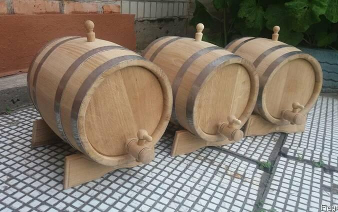 Дубовые бочки для вина, водки, виски - кадки для солений (3-