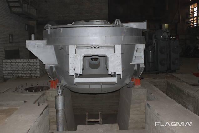 Дуговая сталеплавильная печь переменного тока ДСП-3 готовая! в наличии