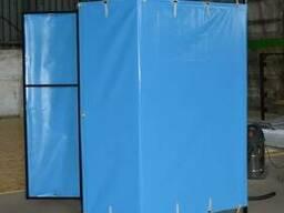 Душ разборной для дачи улицы (бак 100л) пвх штора