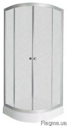 Душевая кабина Delfi 103-4 мелкий поддон, белый фабри