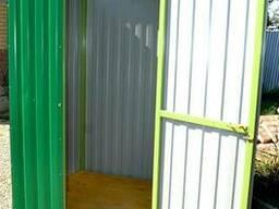 Душевая кабинки для строительного объекта