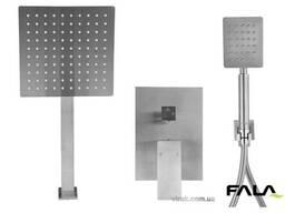 Душовий комплект прихований в стіні Steely S FALA 2 функції шланг 1.5 м
