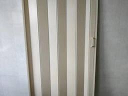 Дверь гармошка глухая кедр 911 81*203*0, 6 см раздвижная