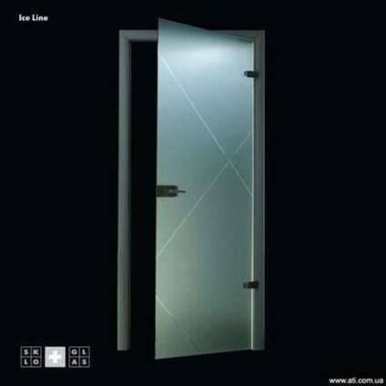 Дверь Ice Line -новая коллекция стеклянных дверей StoneGlass