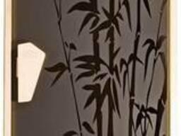 Дверь для сауны «Бамбуковый лес»