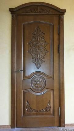 Двери межкомнатные из ясеня массив