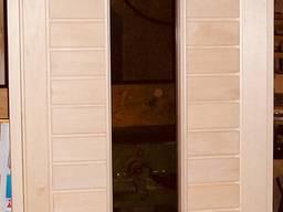 Двери деревянные для сауны или бани от производителя