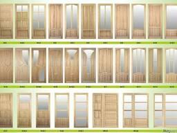 Двери деревянные из массива ТМ Drevo