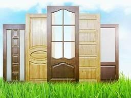 Двери из Массива Сосны Цена/Купить Деревянную Дверь