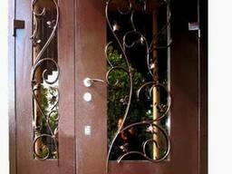 Двери кованые коттеджные элит