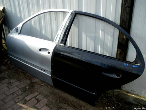 Двери левые передние задние Mercedes W211 02-09 Мерседес