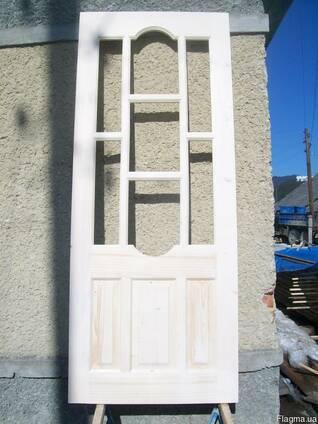 Двері масив смерека.