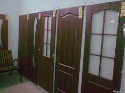 Двери межкомнатные в ассортименте, фурнитура. Установка.