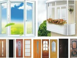 Двери, окна, балконы, лоджии, утепление фассадов, договор,