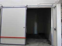 Двери откатные для овощехранилищ