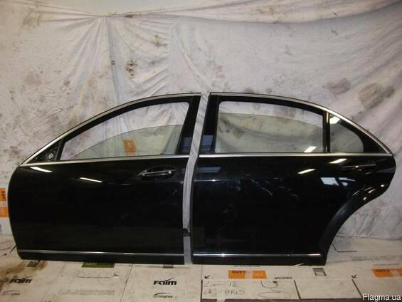 Двери передние задние левые комплектные Mercedes W221 05-13