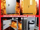 Двери противопожарные металлические EI 30 EI 60/двері протип - фото 1