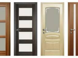 Дверь Межкомнатная со Стеклом и Двери Без Стекла