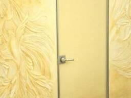 Двери стеклянные в алюминиевой раме