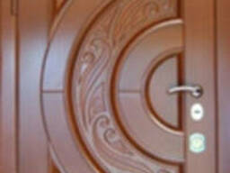 Двери входные металические с мдф накладками. . Стандартные и