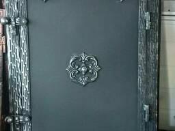 "Дверки для камина, коптильни, барбекю""Медальон"""