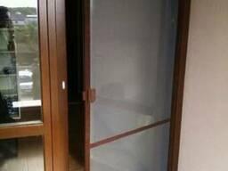 Дверная москитная сетка. Антимоскитная сетка на двери