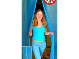 Дверная сетка антимоскитная на магнитах от комаров