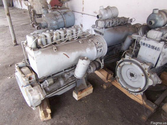 Четырехтактный дизельный двигатель Д 144 (Д-144)