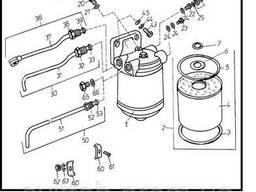 Двигатель Д 3900к - Фильтр топливный для погрузчика Балканкар