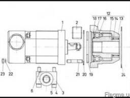 Двигатель Д-3900К. Шестеренчатый насос А25Х.