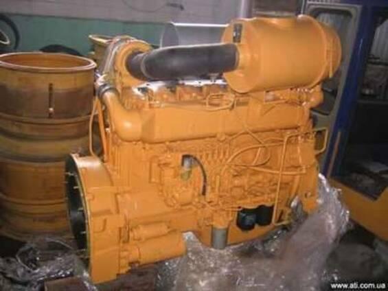 Двигатель D6114ZG1B, WD-615, TD-226B