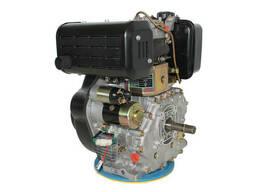 Двигатель дизельный GrunWelt GW192FE (14 л. с. , шпонка)