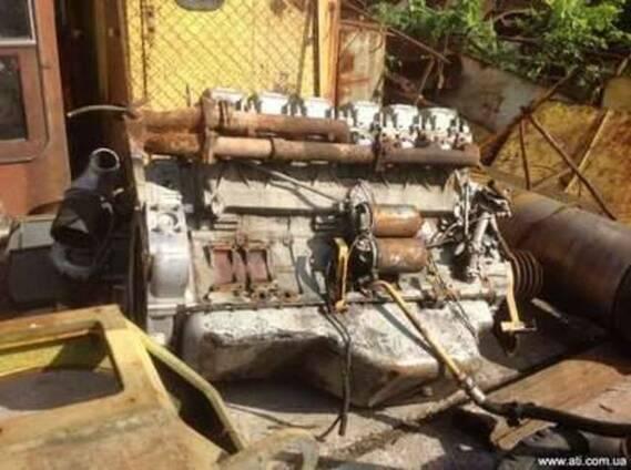 Двигатель и коробка к БЕЛАЗу (45 т)