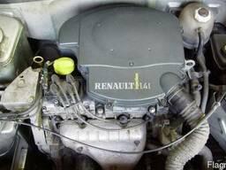 Двигатель мотор Рено Кенго 1.4i в сборе голый рабочий