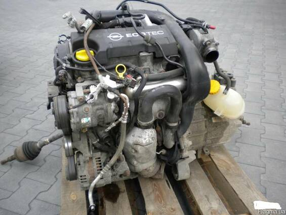 Двигатель Opel Meriva Opel Combo 1.7CDTI Z17DH Оригинальная подержанная деталь − это выход