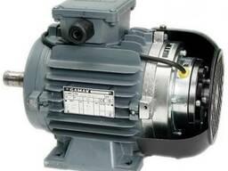 Двигатель с электромагнитным тормозом Gamak