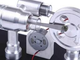 Двигатель Стирлинга Stirling Engine с генератором . Набор. - фото 3