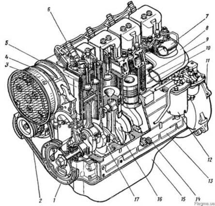 Двигатель трактора Т-40 (Д-144)