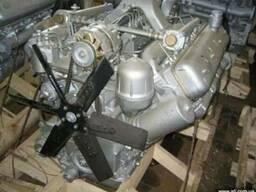 Двигатель ЯМЗ-238НД восьмицилиндровый (турбо)