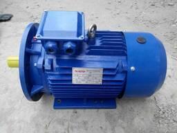Электродвигатель трёхфазный фланцевый АИР 100 S4 У2 ( 3. 0 кВт ; 1500 об/мин )