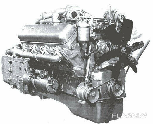 Двигательный Двигатель ЯМЗ 236 Д НА Т 150