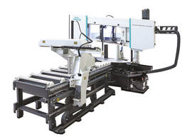 Двоколонний верстат для різання труб і профілю Pegas Profi A-CNC 400