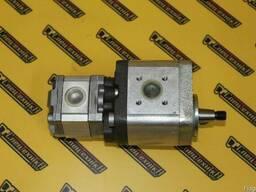 Двойной шестеренчатый гидронасос Bosch-Rexroth 7930 Оригинал