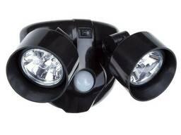 Двойной светильник с датчиком движения