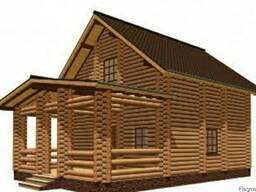 Двухэтажный дом из дерева 105 м2 -225000 грн