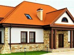 Двухэтажный дом из профилированного клееного бруса 17х12 м