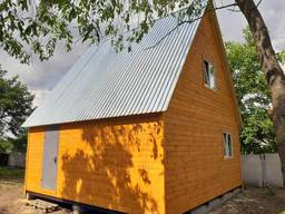 Двухэтажные дачные, каркасные домики. Адекватные цены.