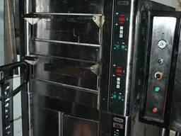 Двухкамерная цифровая кондитерская печь бу, BDE2 от Zanussi