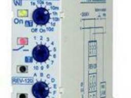 Двухканальное реле времени РЭВ-120 одномодульное