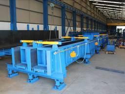 Оборудование для производства бетонных колонн, механика